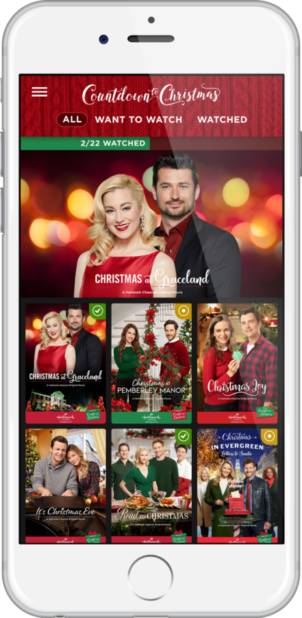 Hallmark countdown to Christmas app