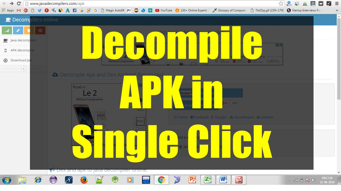 Decompiler APK