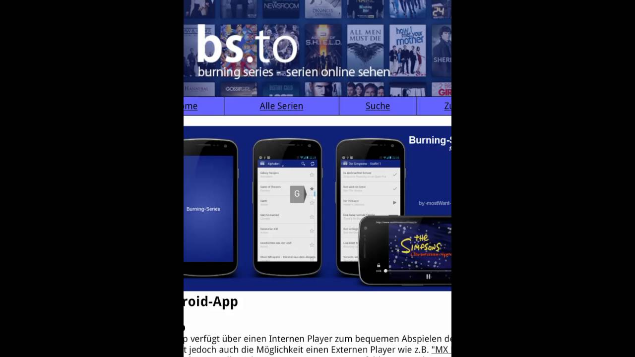BS.to App – New Application For Android And iOS/iPhone